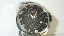 Kenneth Cole KS3032 Men's Chronograph SS Watch w/ Carbon Fiber Accents