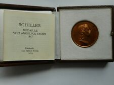 Faksimile-Medaille F. Schiller von A.Facius,Faksimile H. König  (29)