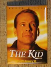 Disneys THE KID On Dvd January 16th PROMO Pin PinBack  Button