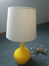 Safavieh Bright Yellow Double Gourd Bedside Lamp
