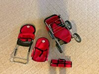The New York Collection 3-1 Doll Mega PlaySet & Twin Stroller