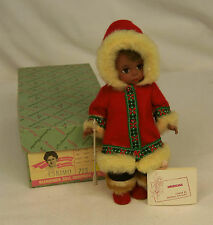 "Vintage Madame Alexander Kins ESKIMO #723 Bent Knee 8"" Wendy Doll MINT in BOX"