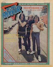 Motorhead Lemmy Interview/article 1981