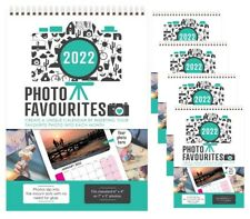 More details for 5 x personalise your calendar 2022 with your own photos each month calender year