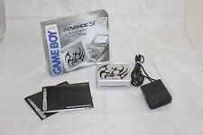 Game Boy Advance SP Tattoo Version Complete in Box Tested