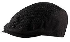 Waffle Knit Cabbie Newsboy Gatsby Baker Boy Country Club Wool Flat Cap Hat