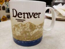 "Starbucks Coffee Mug 2009 Collectors Series ""Denver"" 16 oz."