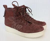 Nike Air Force 1 SF Mid 'Pueblo Brown' Red Men's Casual Shoes Sneakers Mens 9.5