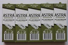 Razor Blades and Arko Shaving Cream Soap Stick Superior Platinum Double Edge