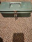 VTG MY BUDDY  Falls City 1352 TYPE Metal Green tackle Box tool storage