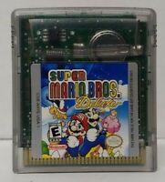 Super Mario Bros. Deluxe  Manual Nintendo Game Boy Color TESTED GBA  Advance