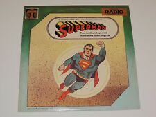 SUPERMAN Lp RECORD FOUR CHAPTER RADIO PROGRAM GA-5009 1977