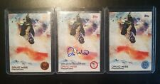 David Wise Freestyle Skier USA Olympic Gold Medalist Signed AUTO 2014 Topps Lot