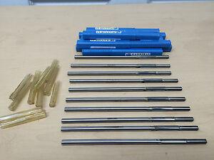 """8/"""" Overall Length Hannibal Carbide .3760/"""" Carbide Tip Reamer"""