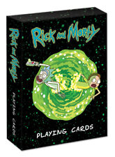 Rick And Morty playing cards family game night fun collectible