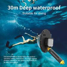 TELESIN Diving Dome Port For GoPro Hero 9 Black Waterproof Case Floating Handle