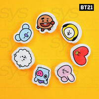 BTS BT21 Official Authentic Goods Eraser 7Characters SET By Kumhong Fancy
