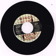 "Capitol 4293 Wings LET 'EM IN/BEWARE MY LOVE 7"" 45 VG/VG+"