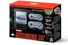NINTENDO CLASSIC MINI: SUPER NINTENDO ENTERTAINMENT SYSTEM PREORDER