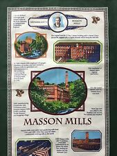 Ulster Weavers Arkwright's Masson Mills Linen Tea Towel New