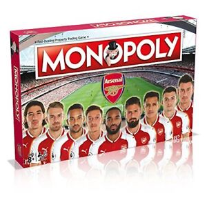 Winning Moves Arsenal FC Monopoly Board Game New Sealed