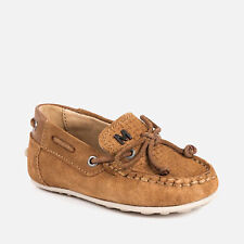 Brand new boys Mayoral loafer, summer shoes tan 1/2 price
