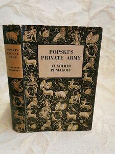 Vintage Book Of Popski's Private Army, By Vladimir Peniakoff - 1953