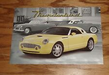 Original 1999 Ford Thunderbird Concept Car Post Card Brochure 99