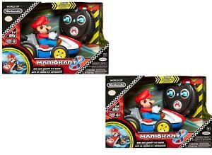 2xWorld of Nintendo Mario Kart Radio Control RC Toy Mariokart Racer Anti Gravity