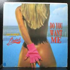 """Lee Marrow feat. Lipstick - Do You Want Me 12"""" VG World of Music MIX 395 Italy"""