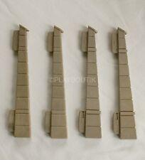 PLAYMOBIL CHATEAU FORT - piliers -renfort de mur (x4) - 3666 3123 3446 3450