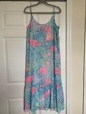 Lilly Pulitzer Winni Midi Dress Sink or Swim Size L