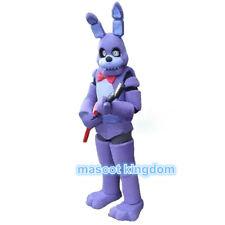Purple Toy Bonnie Mascot Costume Five Nights At Freddy's Carnival Festival Dress