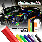 Holographic Rainbow Neo Chrome Car Vinyl Wrap Sticker Decal Film Air Release