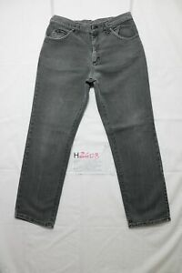 Lee boyfriend usato (Cod.H2408) W34 L30 denim jeans nero baggy