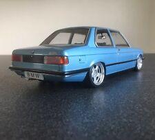 BMW E21 1:18 - 318i - 320i 323i - tuning unique Jantes Schmidt - @ BBS E36 M3 M5