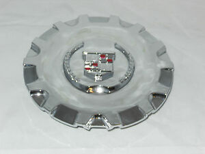 "NEW NOS MC2 CADILLAC SRX 17"" WHEEL RIM CENTER CAP 4580 4593 MC2-C4580CWC CHROME"