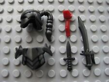 Custom ASSASSIN ARMOR & WEAPON PACK for Lego Minifigures Ninja Castle