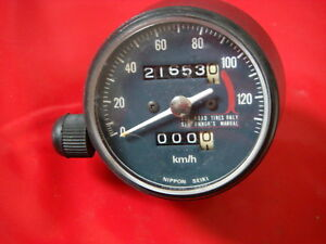 km/h Tacho speedo tachymetre tachimetro velocimetro HONDA XL125K XL 125 K K2 K3