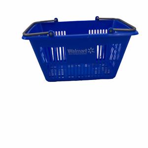 "My Life Walmart Blue Shopping Basket for 18"" American Girl Doll Metal Handles"