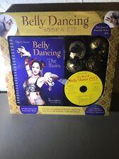 Belly Dancing Book & Kit CD NEW Sherry Jeffries Brass Zills Finger Cymbals