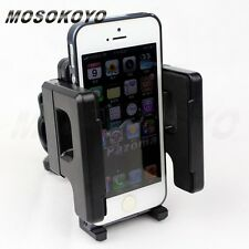 Adjustable Cell Phone Holder Handlebar Mount Motorcycle GPS PDA MP3 Ipod Iphone