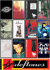 DEFTONES 13 pack cassette cover discography magnet lot around the fur white pony