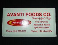 Avanti Foods Co Walnut Illinois Advertising Clip Magnetic