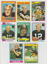 Big Terry Bradshaw 17 Card Lot !! Vintage, Chrome & Reprints Nice Lot High BV