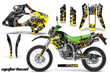KAWASAKI KLX 250 Graphic Kit AMR Racing # Plates Decal Sticker Part 98-03 MOTOR