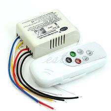 Wireless 3 Ways AC 110V Digital Intelligent Wall Switch Remote Control New