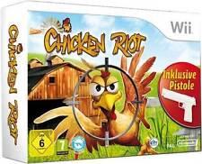 Nintendo Wii Spiel ***** Chicken Riot + Pistole *************************NEU*NEW