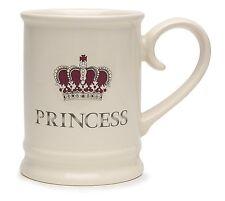 Majestic Royal 'Princess' Cream Novelty Tankard Mug
