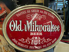 old miluakee bar sign great condition double sided